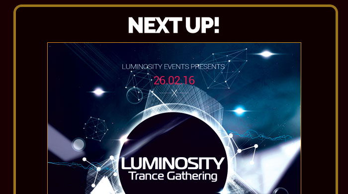 Next Up - Trance Gathering