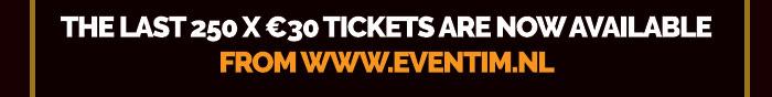 250 x €30 Tickets